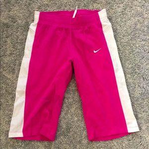 Nike knee length shorts